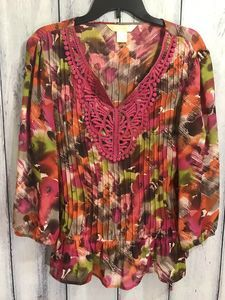 New York City Design Co. Tunic Blouse Size Medium